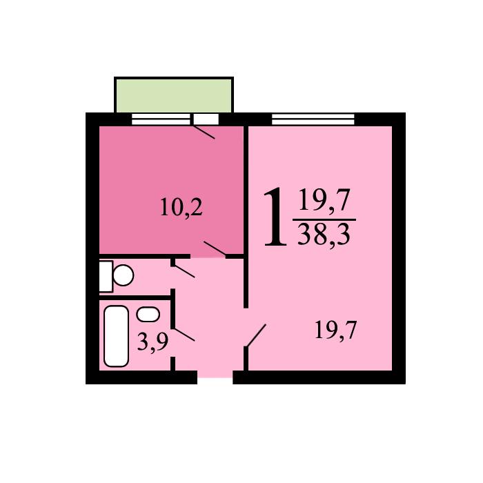 Дома серии копэ - планировка квартир.